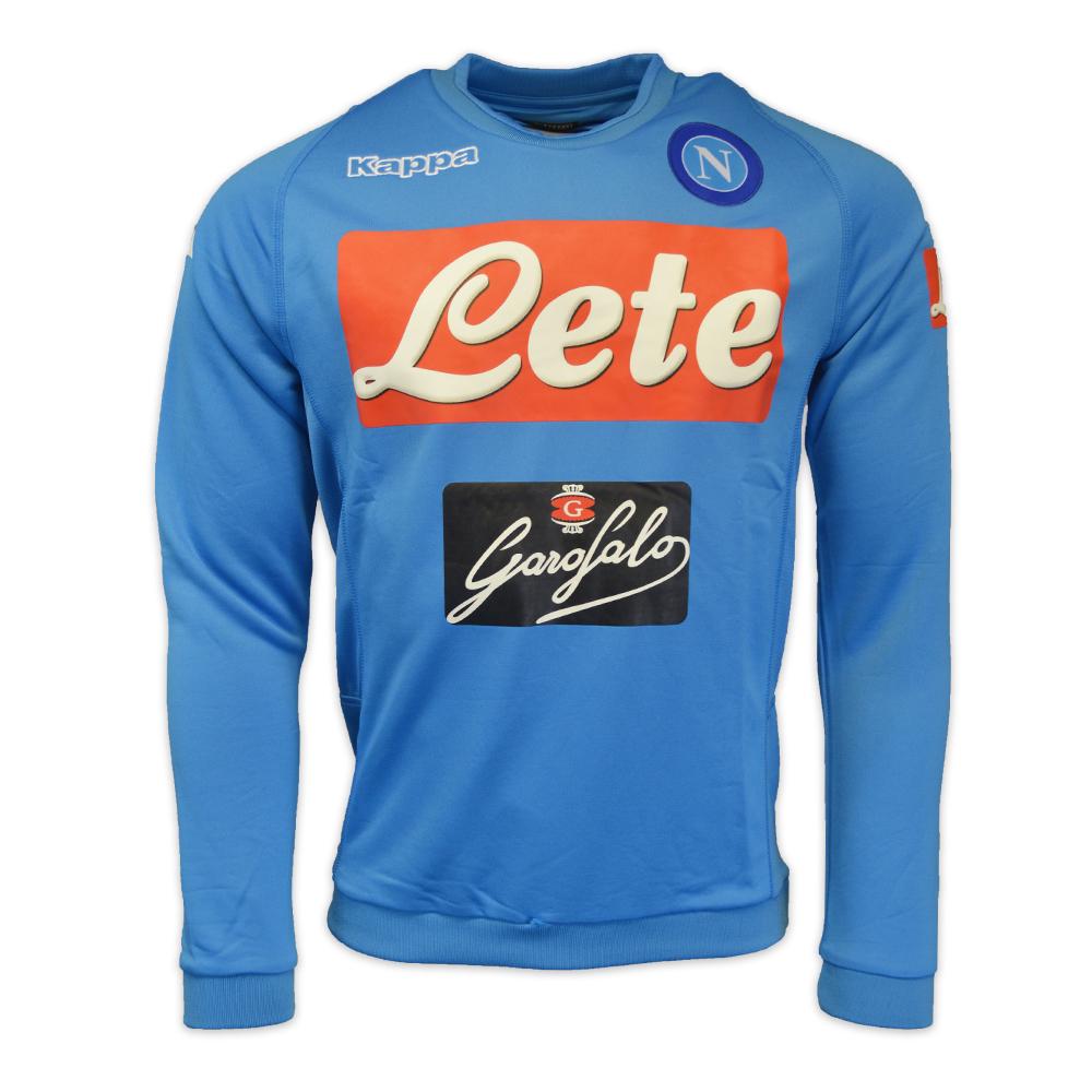 2016-2017 Napoli Round Sweat Top (Blue)