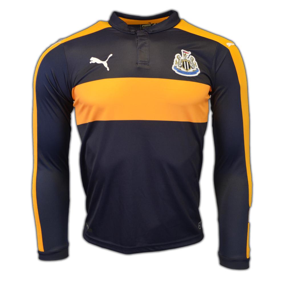 2016-2017 Newcastle Away Long Sleeve Shirt (Kids)