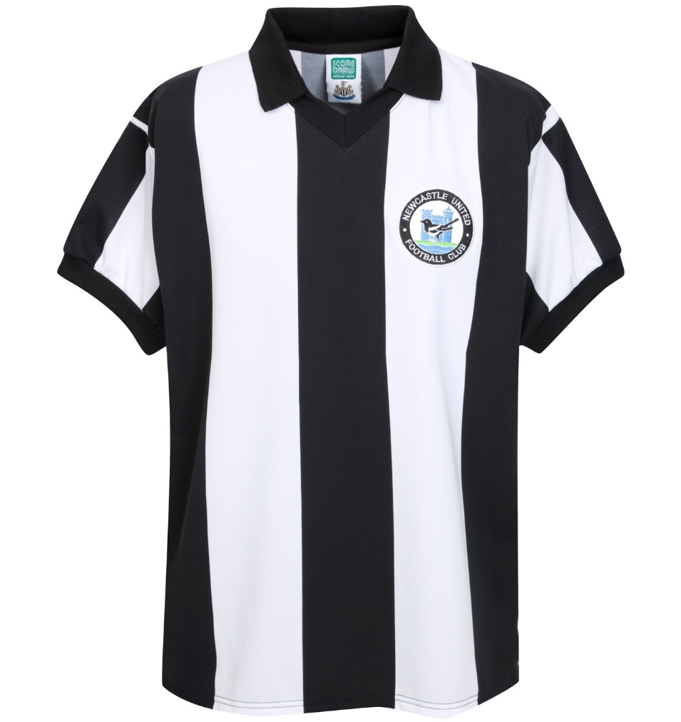 Score Draw Newcastle United 1980 Home Shirt