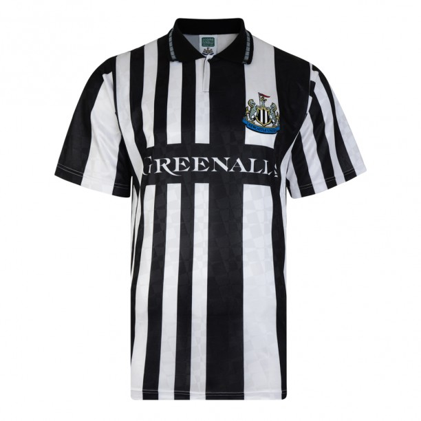 Score Draw Newcastle United 1990 Home Shirt