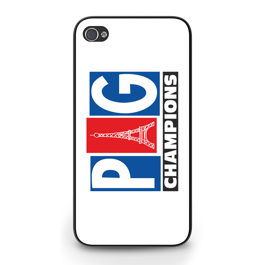 PSG Champions iPhone 6 Cover (White)