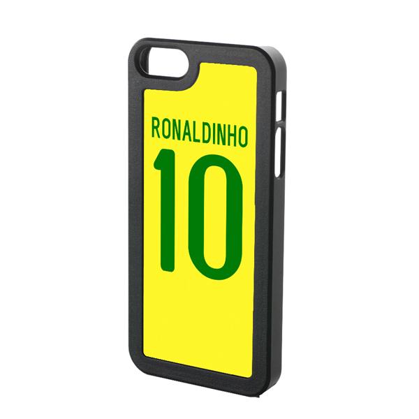 Ronaldinho Brazil iPhone 4 Cover (Yellow)