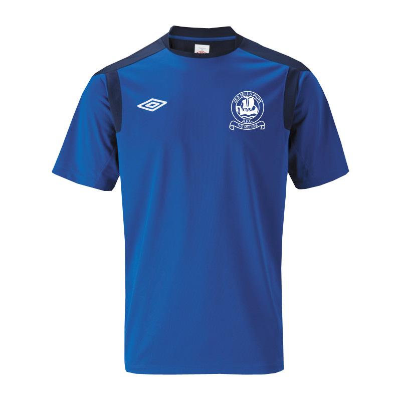 2012-13 Sea Mills FC Training Jersey (Blue)