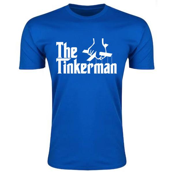 Leicester Claudio Ranieri The Tinkerman T-Shirt (Blue)