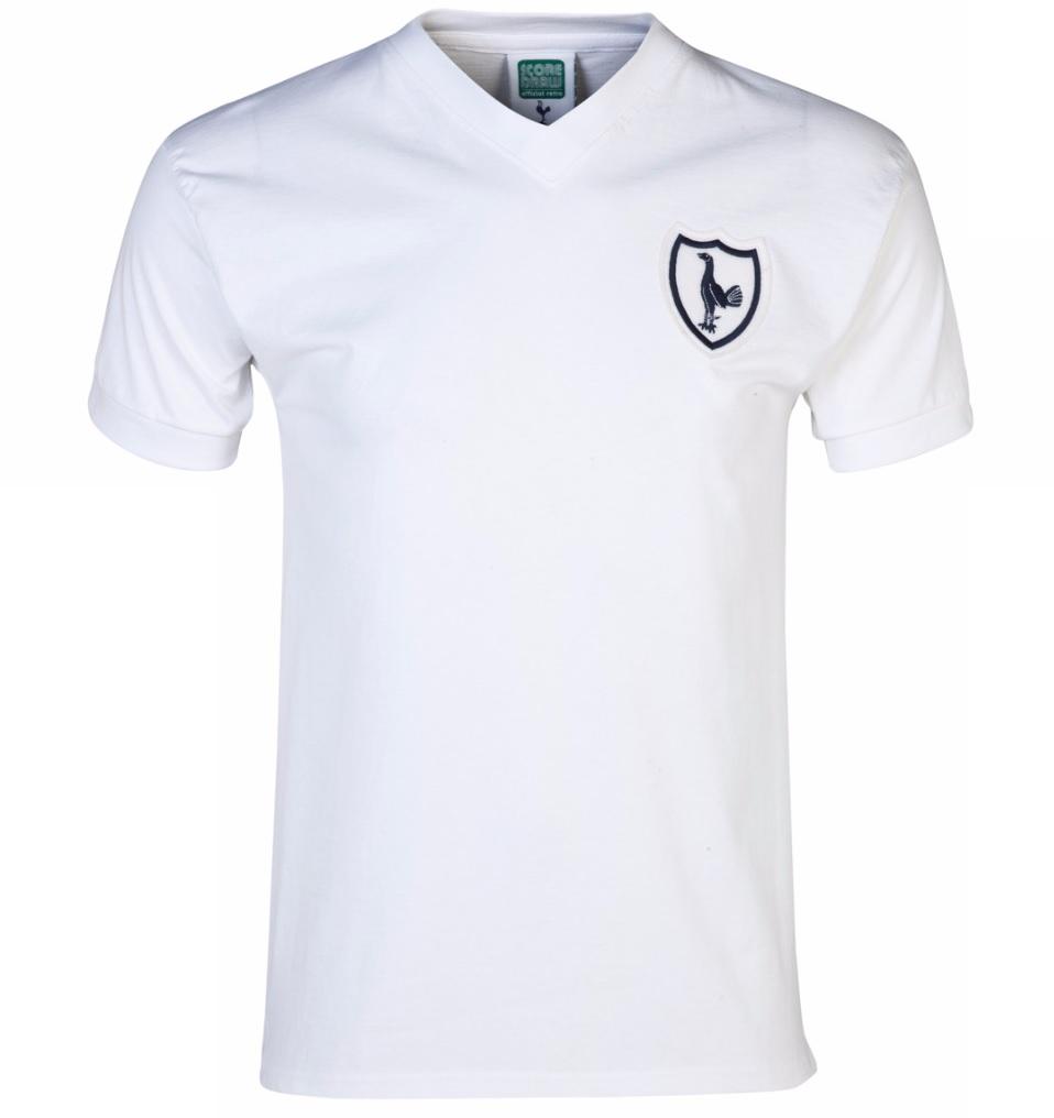 Score Draw Tottenham Hotspur 1962 No8 Home Shirt