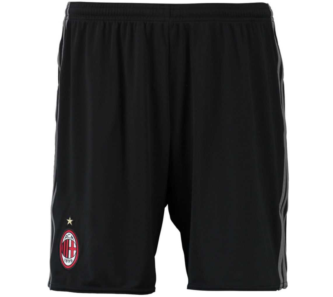 2016-2017 AC Milan Adidas Home Shorts (Kids)
