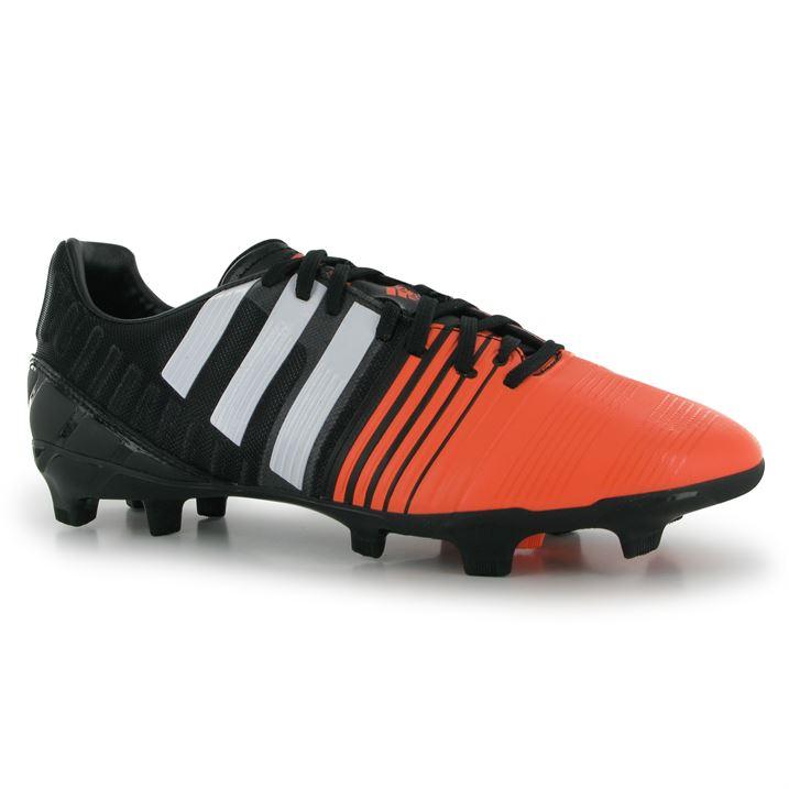 adidas Nitrocharge 2.0 FG Mens Football Boots (Black-White-Flash)