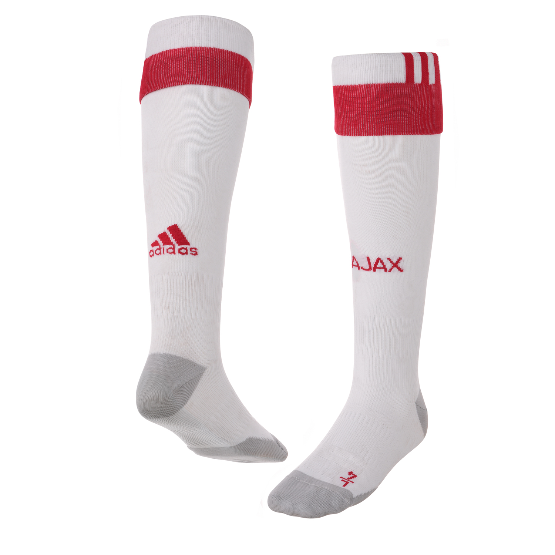 2016-2017 Ajax Adidas Home Football Socks (White)