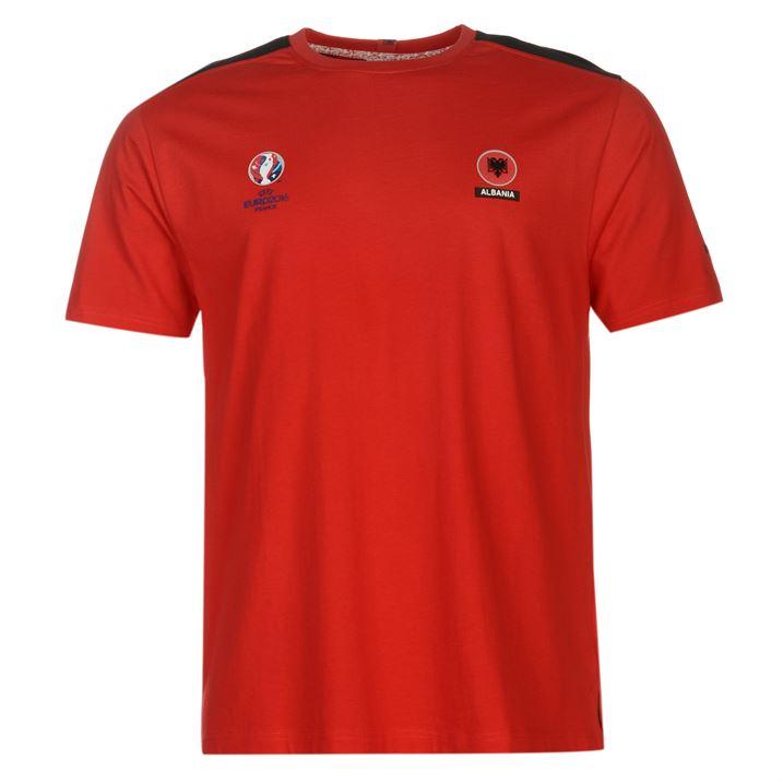 Albania UEFA Euro 2016 Core T-Shirt (Red)