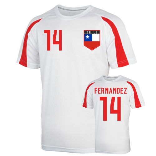 Chile Sports Training Jersey (fernandez 14)