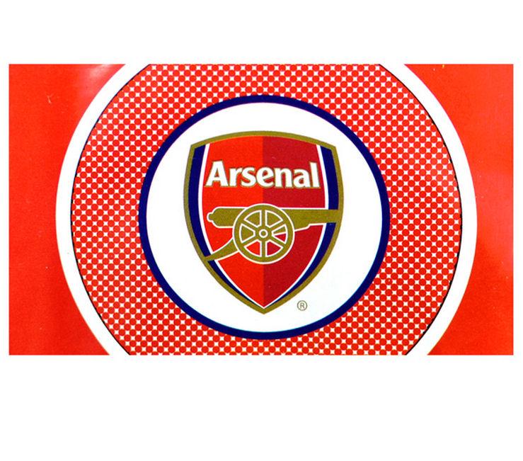 Arsenal Bullseye Flag (Red)