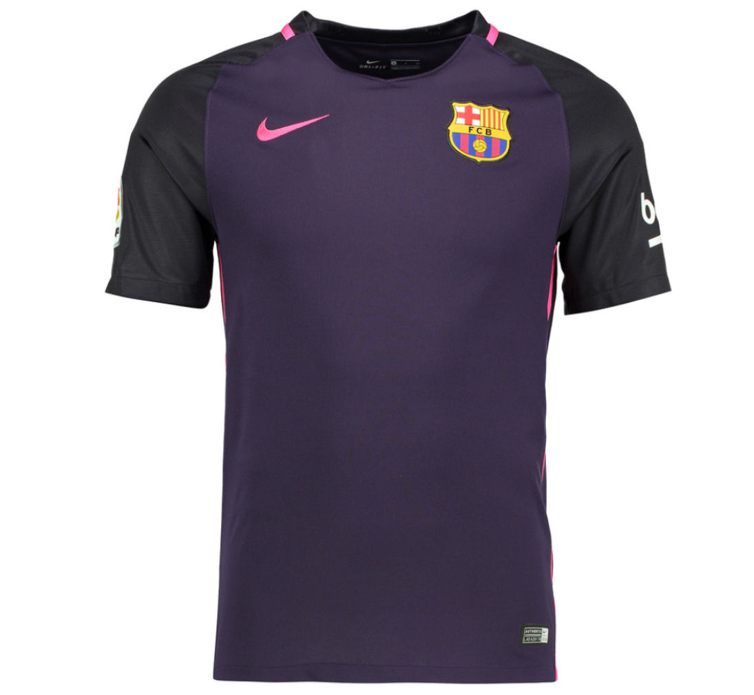 2016 2017 barcelona away nike football shirt 776844 525. Black Bedroom Furniture Sets. Home Design Ideas