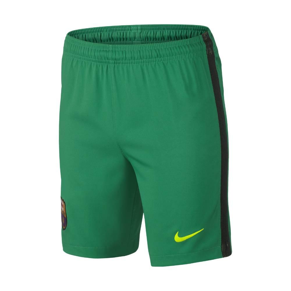 2016-2017 Barcelona Home Nike Goalkeeper Shorts (Lucid Green)