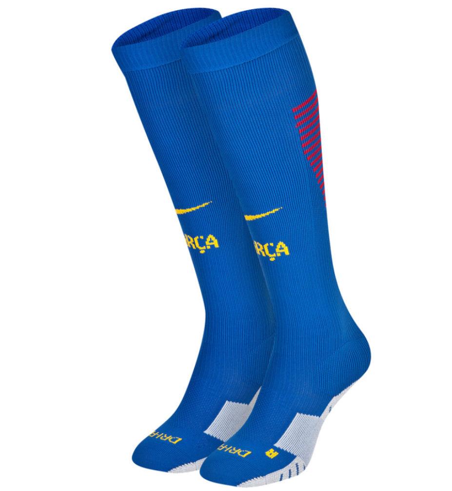 2016 2017 barcelona nike home socks blue 776763 480 for Blue barcelona