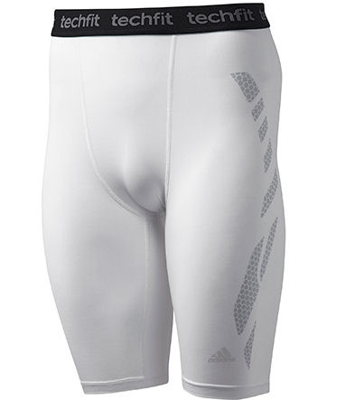 Adidas Techfit Preparation Short Tights (white)