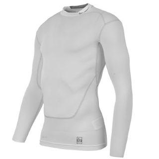 Nike Pro Combat Core Mock Baselayer (white)
