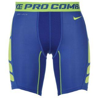Nike Pro Combat Hypercool Shorts (blue)
