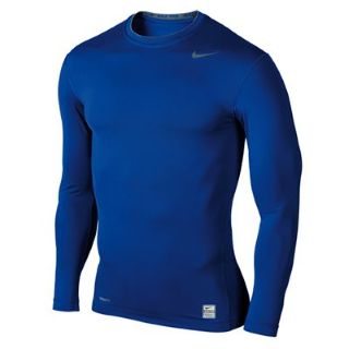 Nike Pro Core Ls Baselayer Tee (blue)