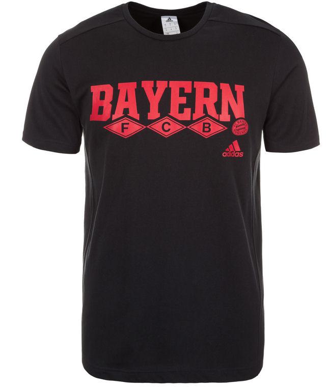 2015-2016 Bayern Munich Adidas Core Tee (Black)