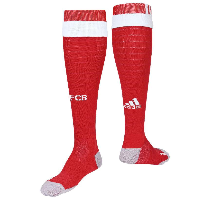 2016-2017 Bayern Munich Adidas Home Football Socks (Red)
