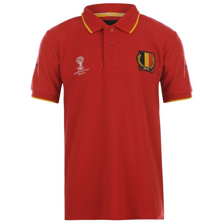 Belgium 2014 FIFA Polo Shirt (red) - Kids