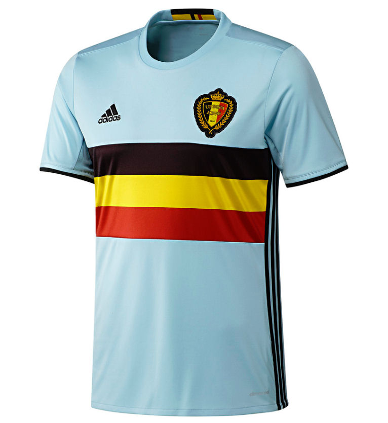 2016-2017 Belgium Away Adidas Football Shirt