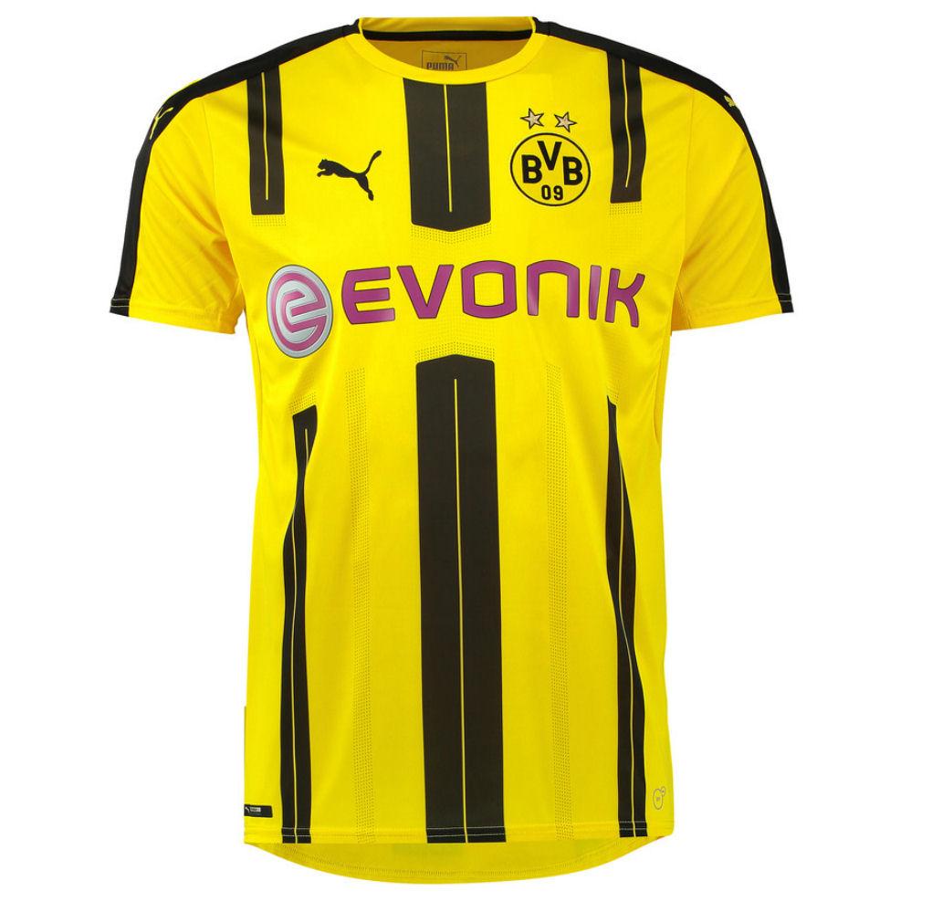 2016-2017 Borussia Dortmund Puma Home Football Shirt (Big Sizes)