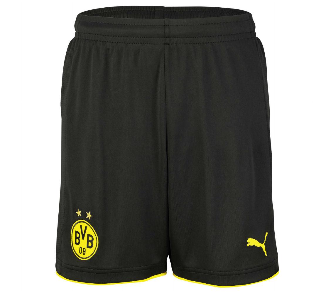 2016-2017 Borussia Dortmund Home Puma Shorts (Black)
