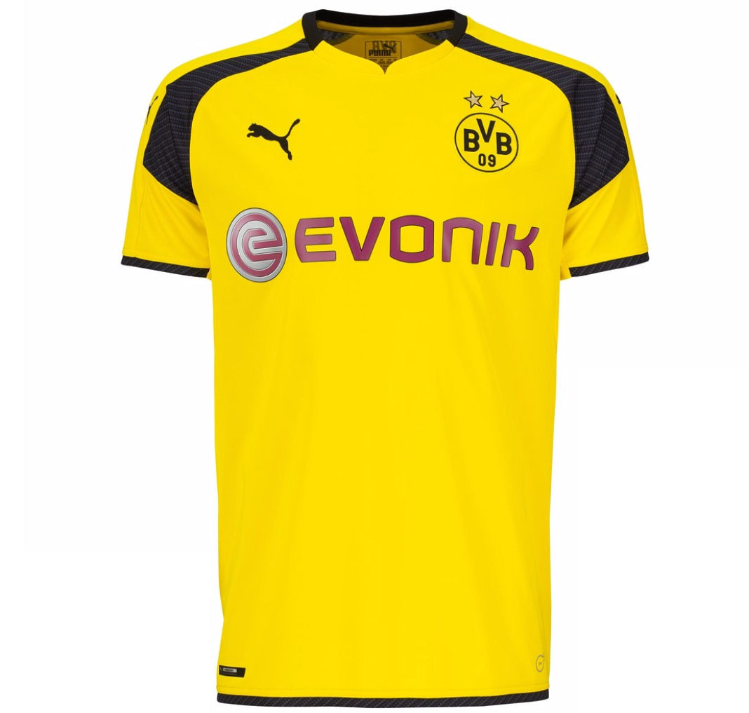 2016 2017 borussia dortmund puma ucl home football shirt 74982511 uksoccershop. Black Bedroom Furniture Sets. Home Design Ideas