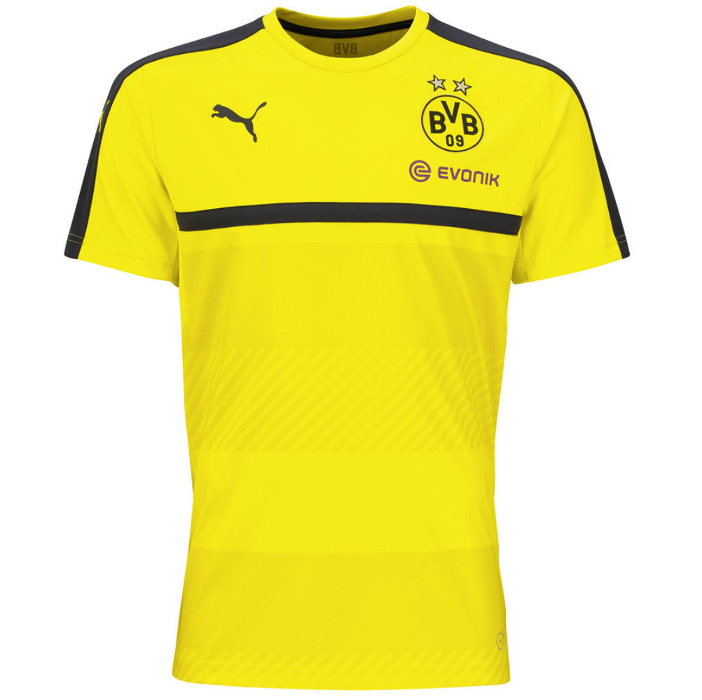 2016 2017 borussia dortmund puma training shirt yellow kids 74984501b uksoccershop. Black Bedroom Furniture Sets. Home Design Ideas