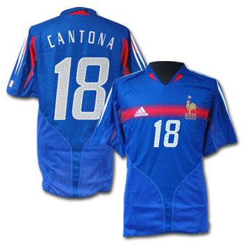 France home (Cantona 18) 04/05