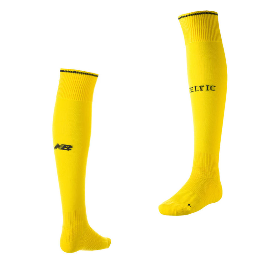 2015-2016 Celtic Home Goalkeeper Socks (Yellow)