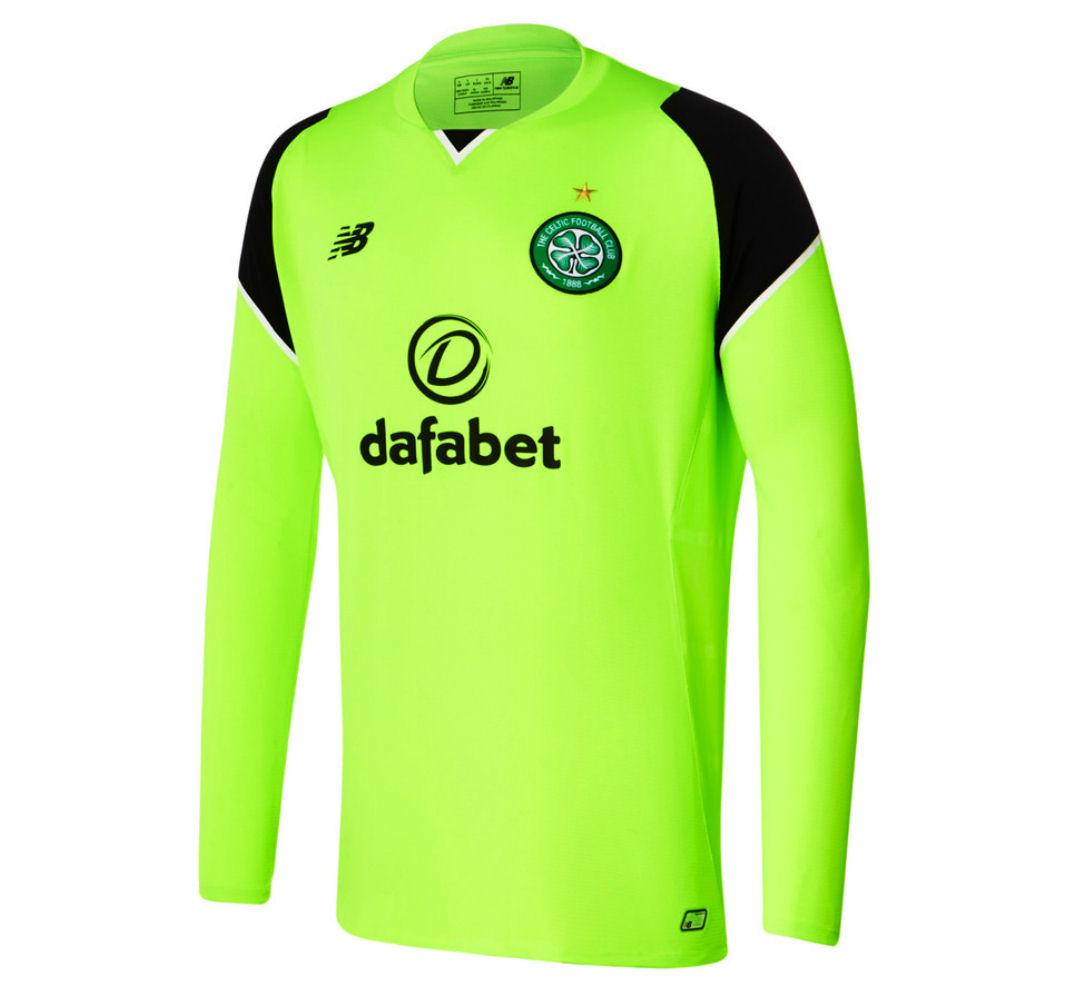 2016-2017 Celtic Home Long Sleeve Goalkeeper Shirt (Toxic)