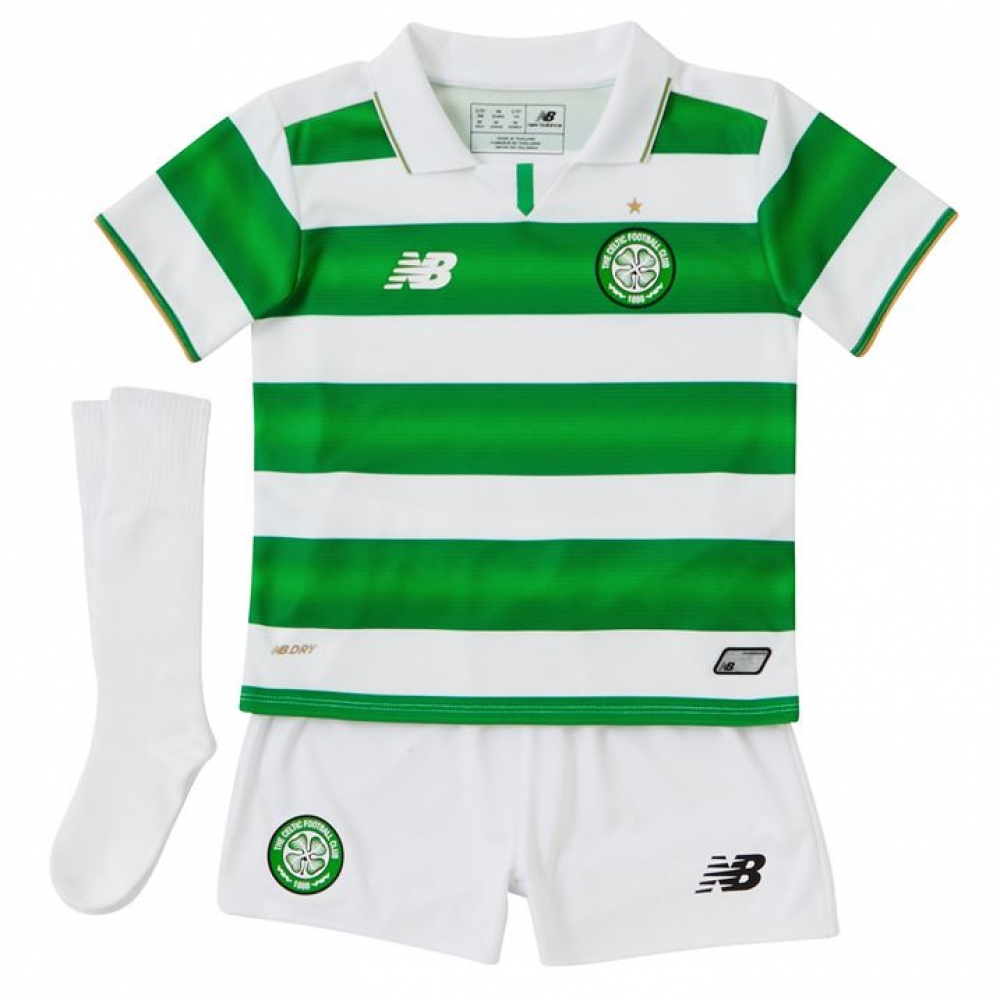 2016-2017 Celtic Home Little Boys Mini Kit