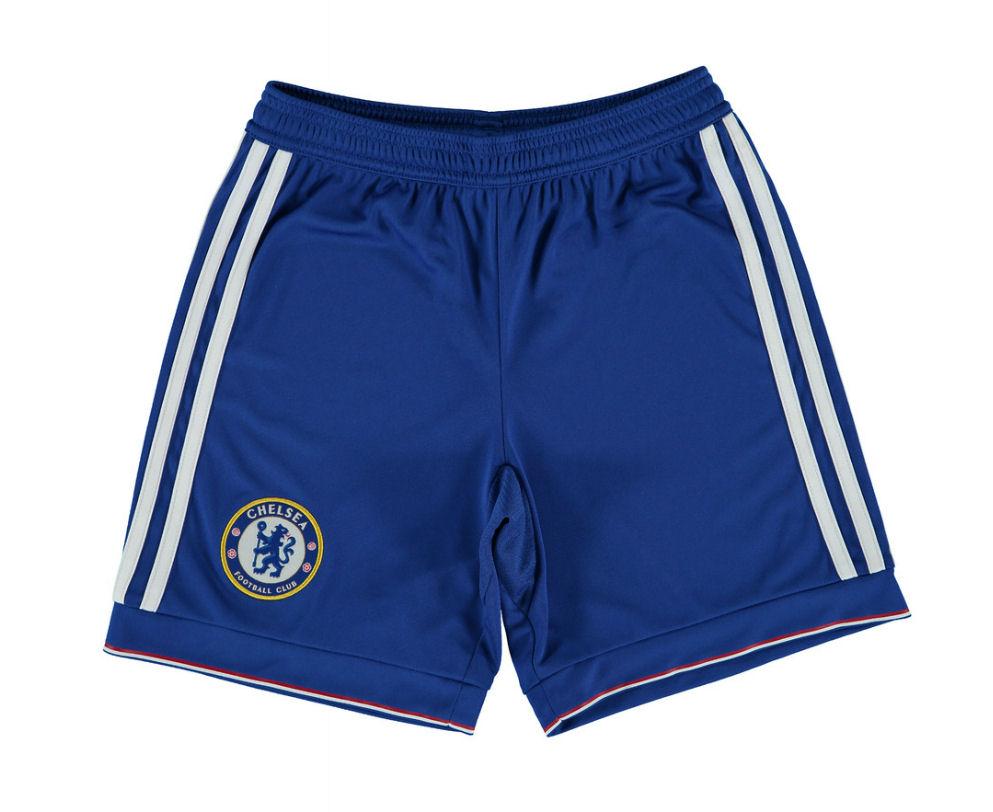 2015-2016 Chelsea Adidas Home Shorts (Blue)