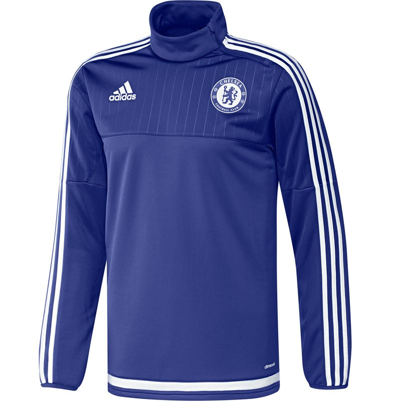 2015-2016 Chelsea Adidas Training Top (Blue)