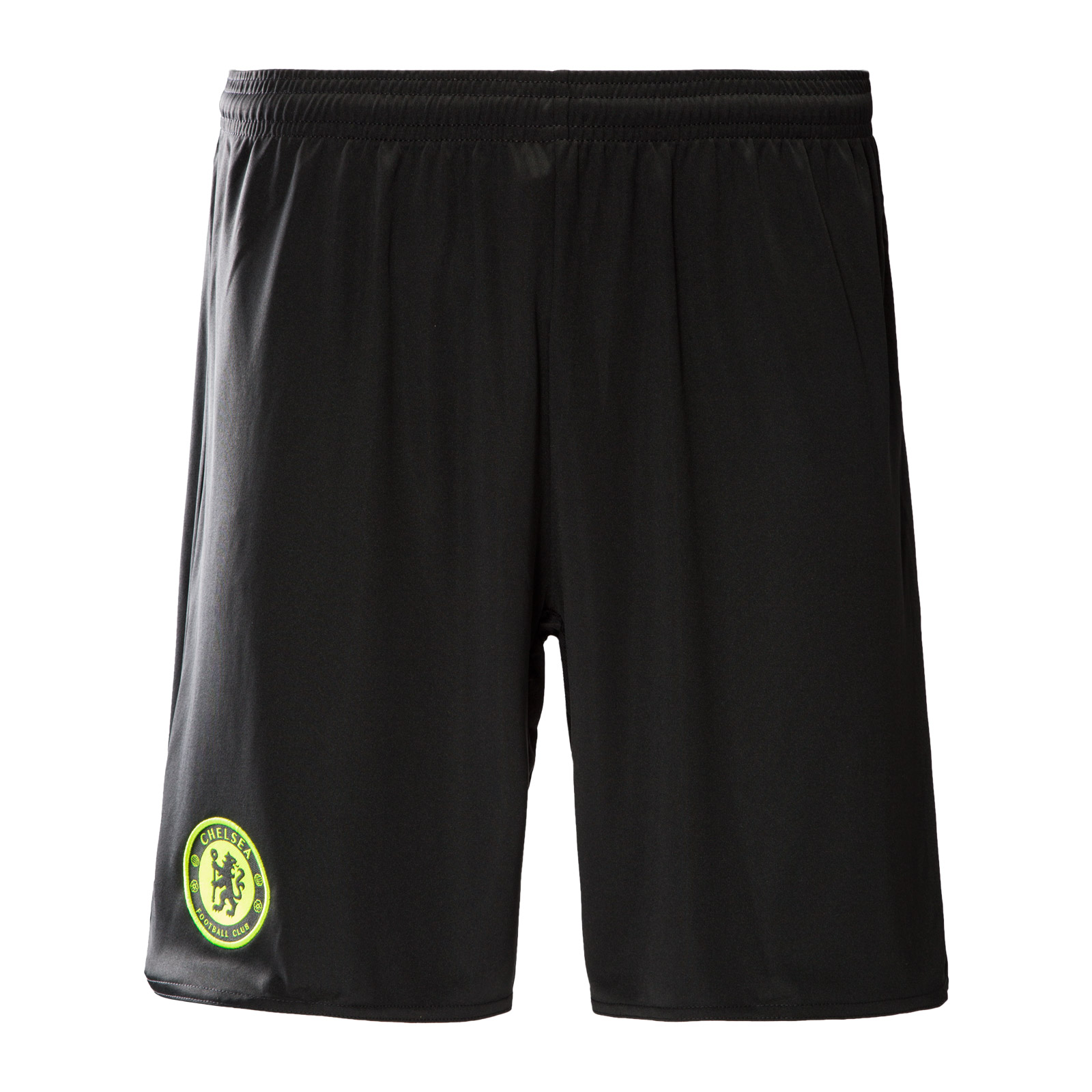 2016-2017 Chelsea Adidas Away Shorts (Black)