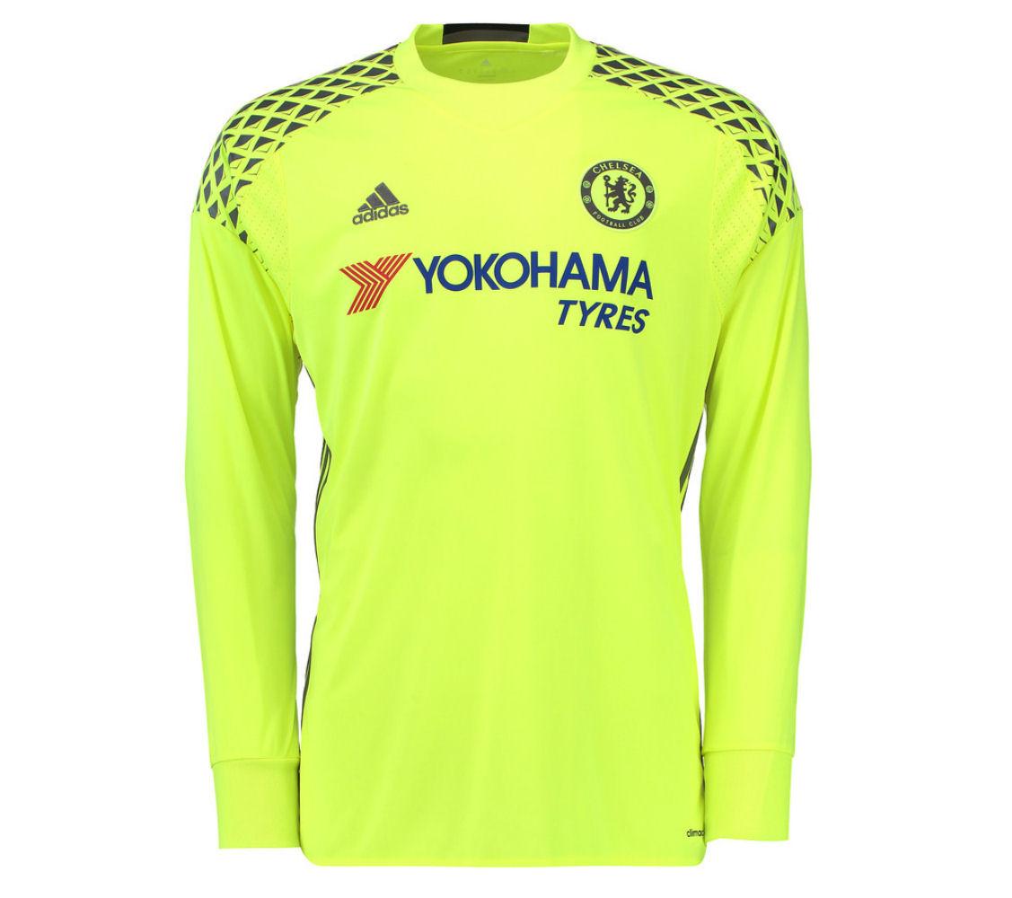 2016-2017 Chelsea Adidas Home Goalkeeper Shirt (Kids)