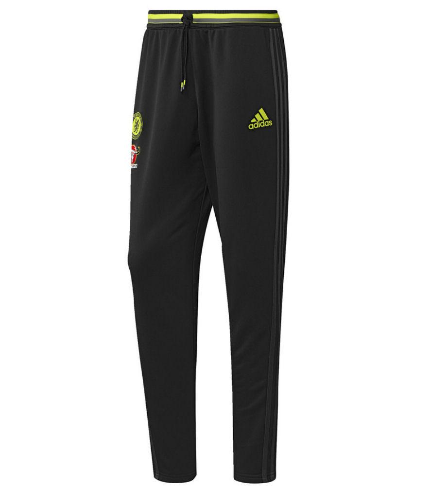 2016-2017 Chelsea Adidas Training Pants (Black)