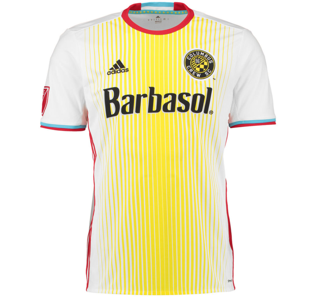 2016 Columbus Crew Adidas Away Football Shirt