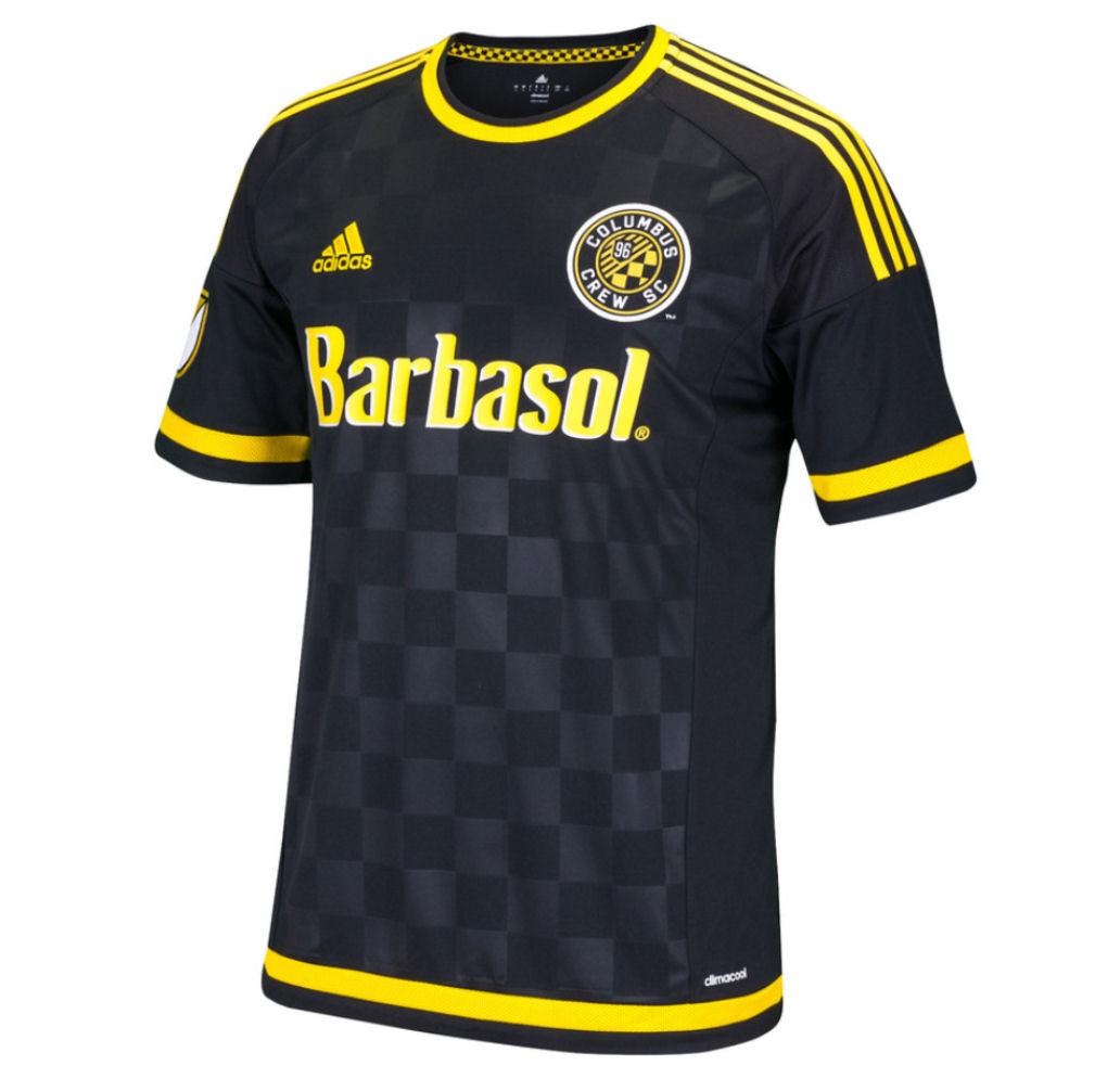 2016 Columbus Crew Adidas Home Football Shirt