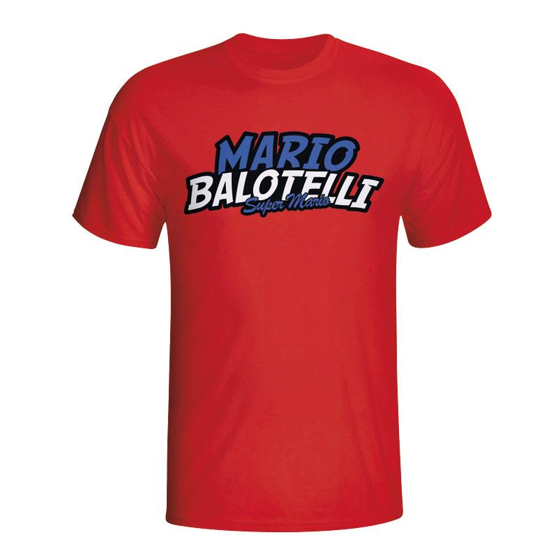 Mario Balotelli Comic Book T-shirt (red) - Kids