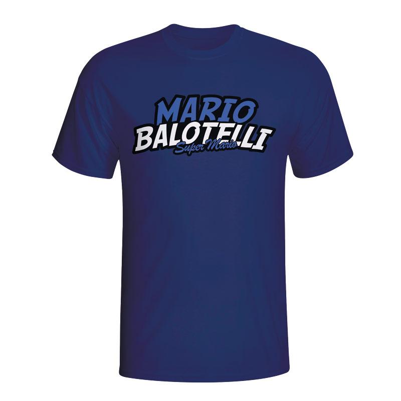 Mario Balotelli Comic Book T-shirt (navy)