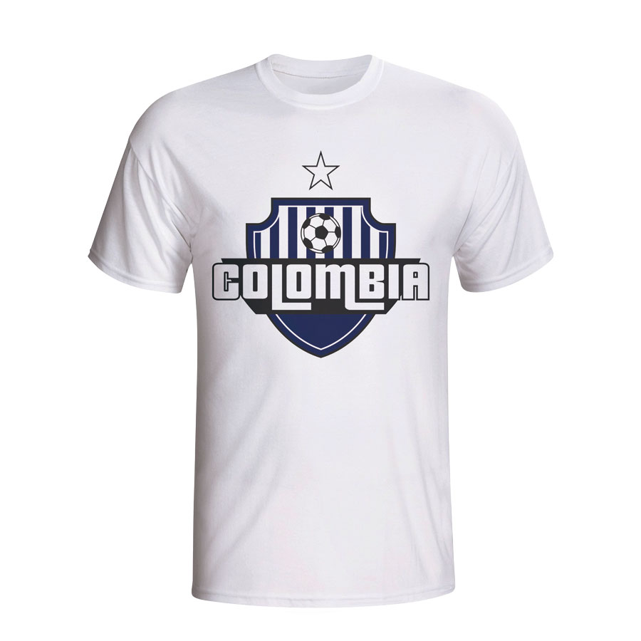 Colombia Country Logo T-shirt (white)