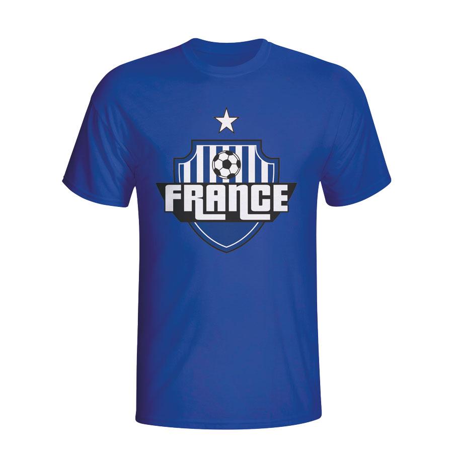 France Country Logo T-shirt (blue) - Kids