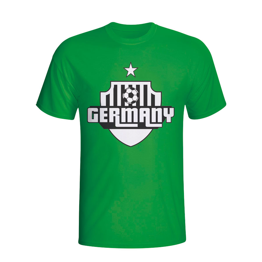Germany Country Logo T-shirt (green)
