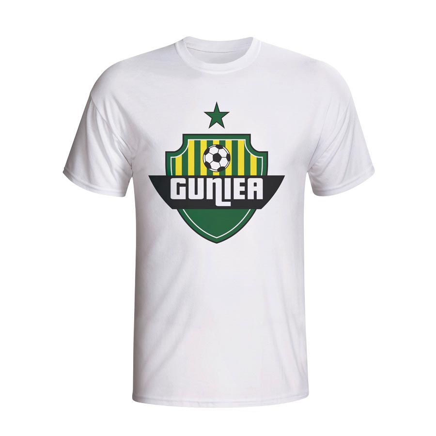 Guinea Country Logo T-shirt (white) - Kids