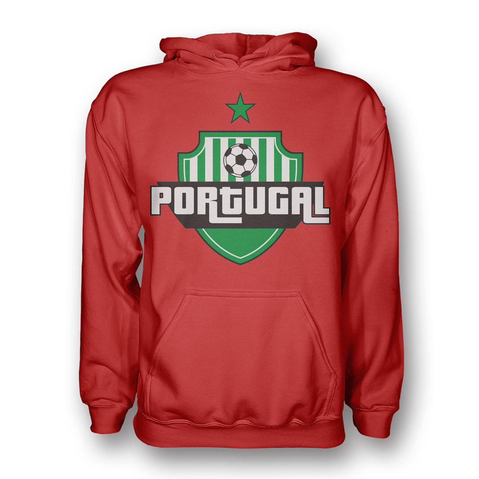 Portugal Country Logo Hoody (red) - Kids