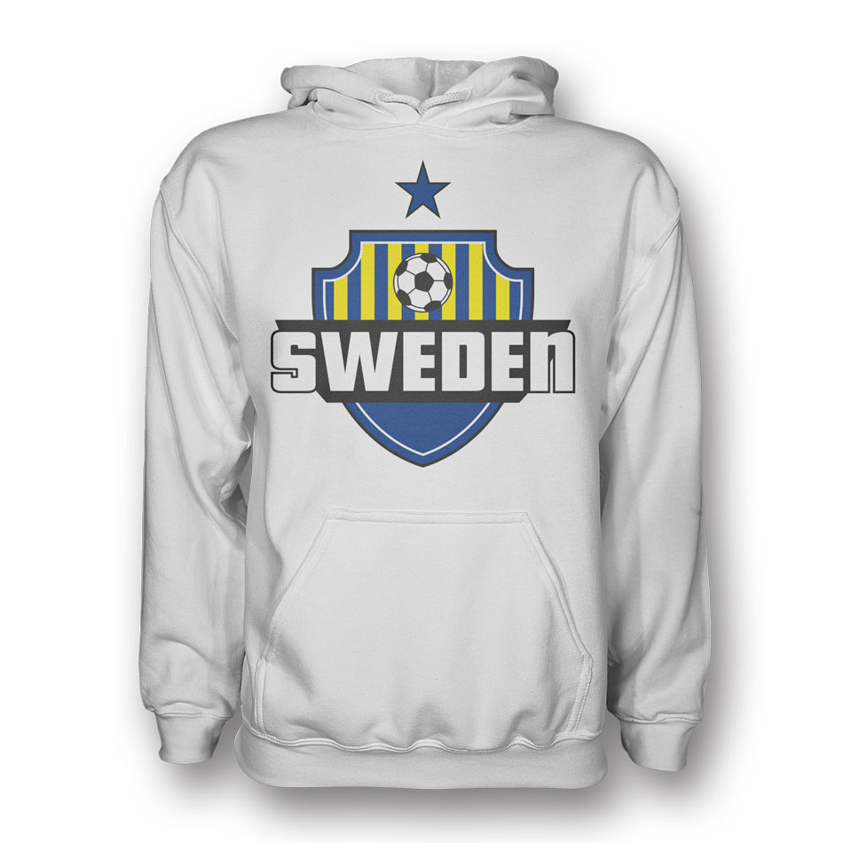 Sweden Country Logo Hoody (white)