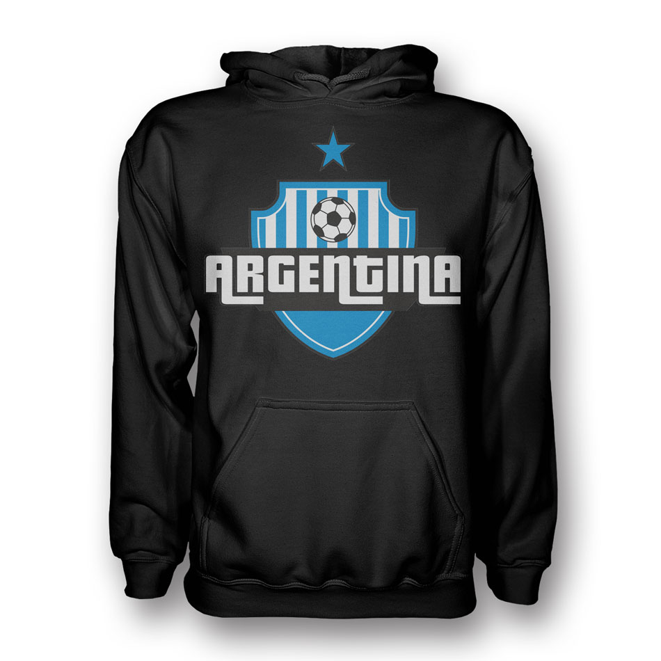 Argentina Country Logo Hoody (black) - Kids